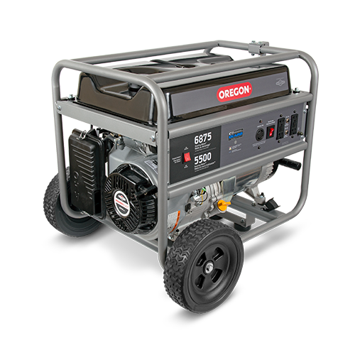 5500W Emergency-Duty Portable Generator