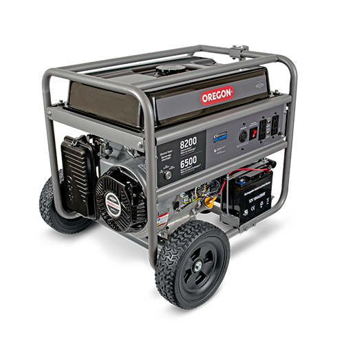 6500W Extended-Duty Portable Generator