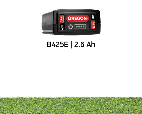 Battery Life for the Oregon 2.6Ah 40 volt Battery on the LM400 mower