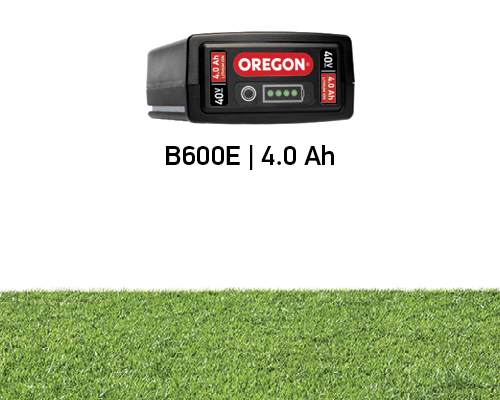 Battery Life for the Oregon 4.0Ah 40 volt Battery on the LM400 mower