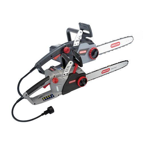 The CS1400 and CS1500 Corded Chainsaws