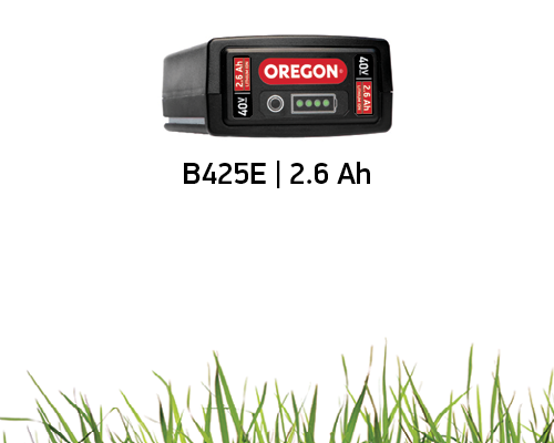 Battery life of the B425E 2.6 Ah Battery on the ST275 String Trimmer