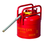 Type II Safety Can, 5 Gallon, Red