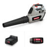 BL300 Cordless Leaf Blower with 4.0Ah Battery and Charger