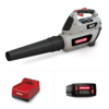 BL300 Cordless Leaf Blower with 6.0Ah Battery and Rapid Charger