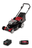 LM400 Lawn Mower with 4.0 Ah Battery and C650 Charger
