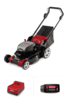LM400 Lawn Mower with 6.0 Ah Battery and C750 Rapid Charger