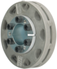 Sprocket, 3/4 Harv Locking Hub 1In