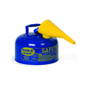 Fuel Can, Metal, Blue, 2 Gal