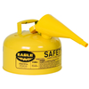 Fuel Can, Metal, Yellow, 2 Gal