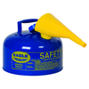 Fuel Can, Blue, Kerosene 2.5 Gal, Metal