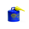 Fuel Can, Kerosene, 5 Gal, Blue, Metal